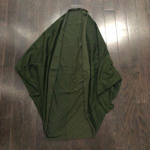 Hunter green Zara Knit Shrug